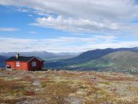 Utsikt mot Oppdal fra Våttåhaugen